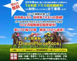 DreamHorseRaceの評価・評判、口コミ情報や競馬予想を評価検証